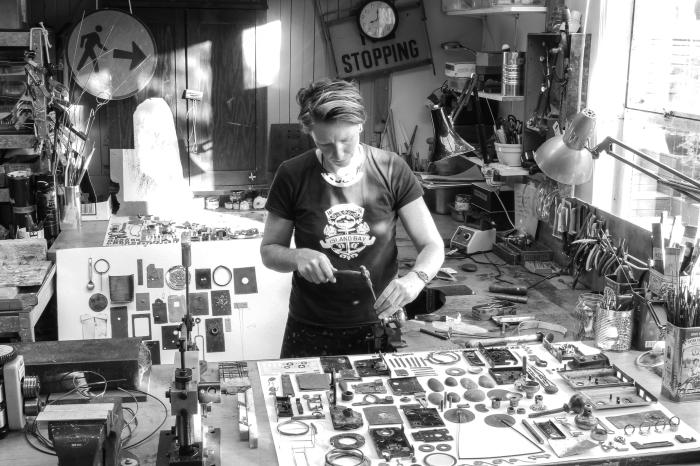 Kelly McDonald in studio