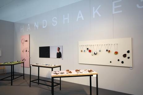 HS3 at the Frame galleries, Handwerksmesse 2017