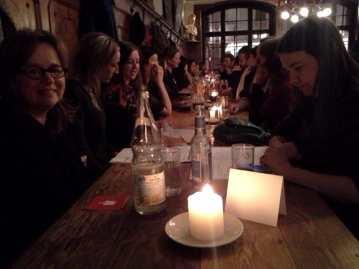 NZ delegation dinner